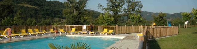 Piscine Gîte La Cascade Aveyron