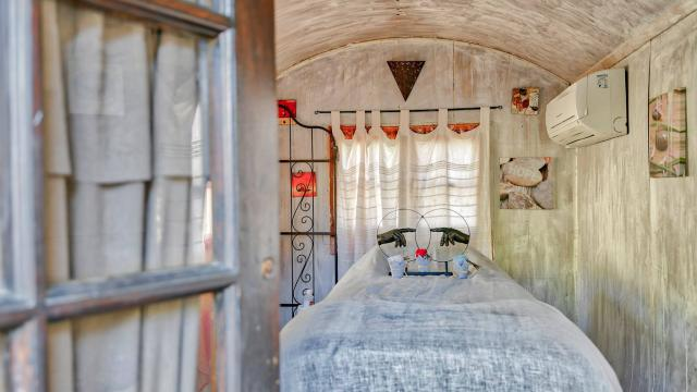 Roulote Massage oustaou Luberon